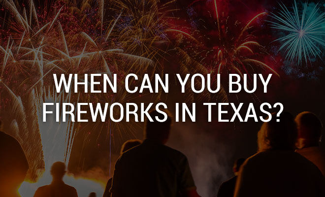 What Are the Texas Fireworks Laws?
